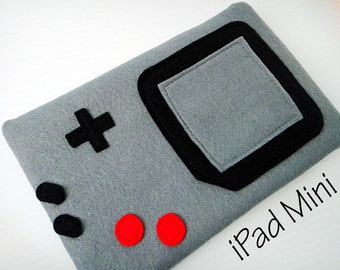 Felt iPad Mini Sleeve / Case - Gamer
