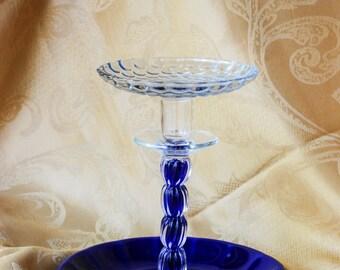 Upcycled Glass Jewelry Organizer