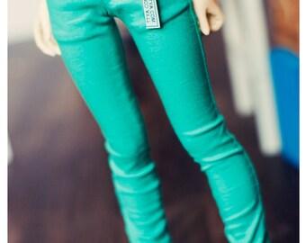 MSD Color Sknny Pants- Mint