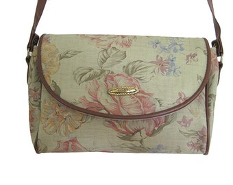 Floral Print Avanti Shoulder Purse