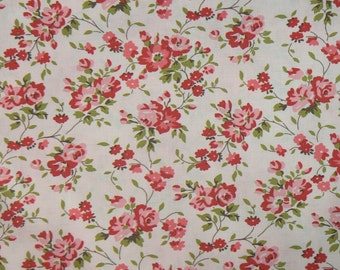 yardage ....Climbing Rose in Pink... from Pirouette by Verna Mosquera