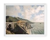California Coast 3 (Bixby Bridge) // 8x10 Fine Art Giclée Print // Photography