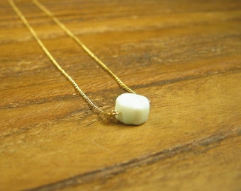 Shades of White Necklace