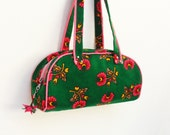 A la Turka Purse Green and Pink Traditional Folklore Bag
