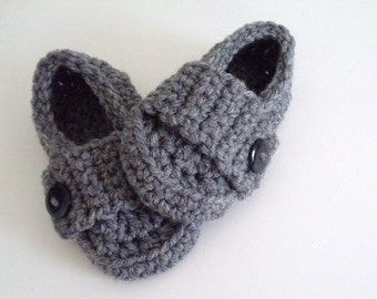 Little Button Loafers, Baby Boy Shoes, 5 Sizes & Many Colors Available
