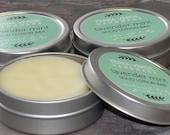 lavender mint natural solid lotion bar