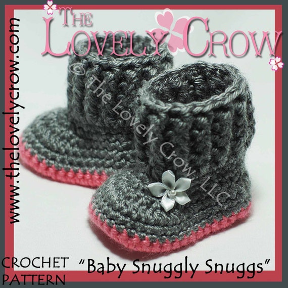 Crochet Baby Uggs Pattern Choice Image Knitting Patterns Free Download