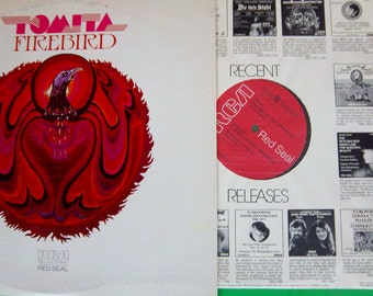 Vintage Tomita Fire Bird Red Seal Record ARL1-1312