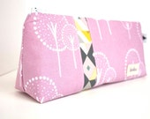 NEW Personalized Cosmetic Makeup Bag - Rosey Cheeks  - Made to Order