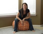 Extra Large - The Lucky Hanks Signature Pouf - Unstuffed