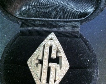 Antique Art Deco Great Gatsby Ring