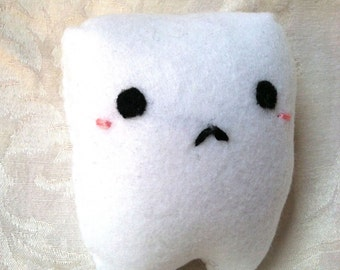 White Tooth Plush