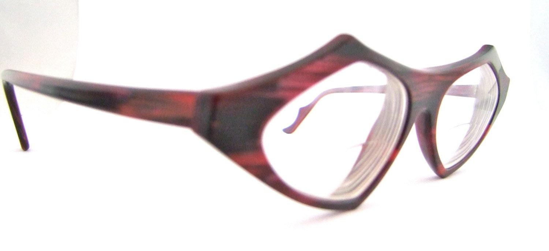 Futurist French Designer Eyeglasses // Amazing Style Frames