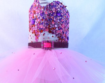Katy Perry Inspired Bling Rhinestone Dog Dress - Celebrity - SALE