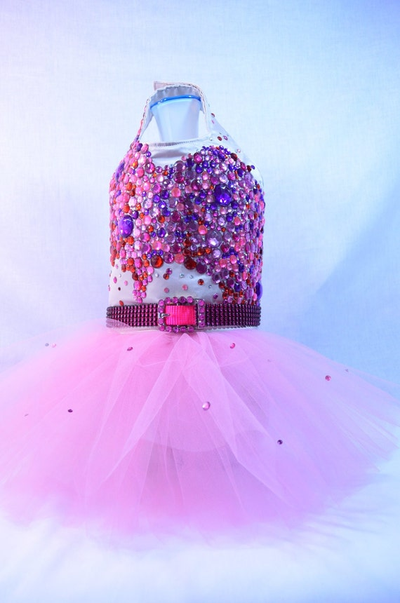 Katy Perry Inspired Bling Rhinestone Dog Dress - Celebrity - SALE