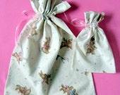 Playful Bunny Gift Bags set of 2