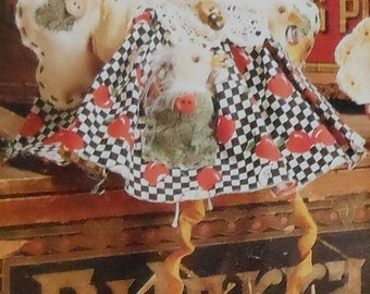 Chicken Doll Sewing Pattern UNCUT McCalls 896 Large and Small