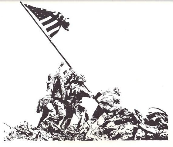 Iwo Jima Marines - World War II - Pacific Theater