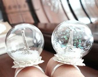 Romantic Snowflake for Glass Bottle Decoration (DT007)
