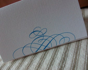Place or Escort Cards - SAMPLE .20 - Any Design or Color