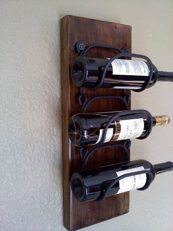 Wall Hanging Wooden Wine Rack