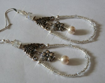 Antique style Bridal Earrings