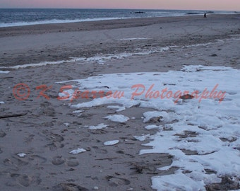 Winter on the Jersey Shore - Long Branch, NJ