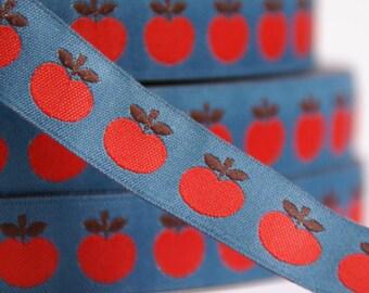 woven ribbon apple