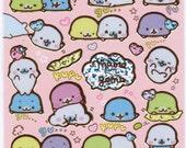 San-X Mamegoma Sticker Sheet - SE18602