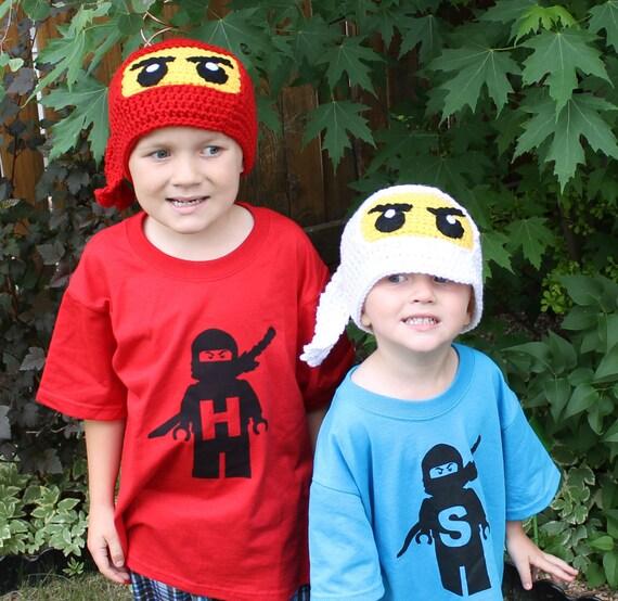 Ninjago Ninja Hat Crochet Pattern Written Hat Pattern PDF Instant Download