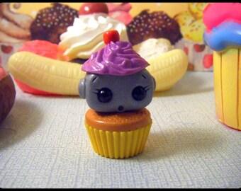 Cupcake Robot (Purple/yellow)