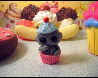 Cupcake Robot (Blue/Pink)