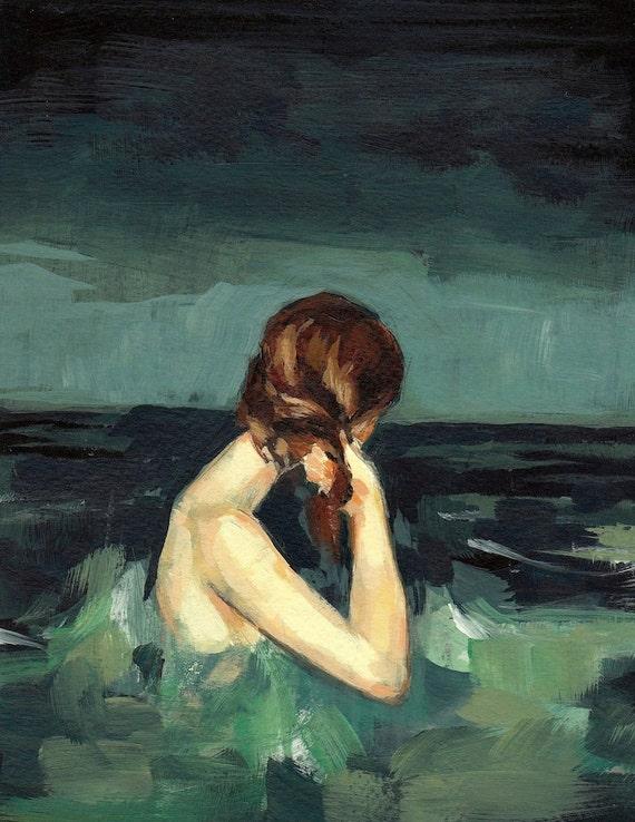 Married to the Sea . 16 x 20 giclee art print