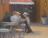 Outdoor Cafe in Naples...