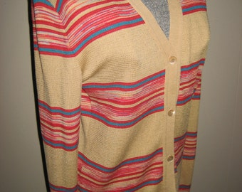 Gorgeous ///// Vintage 1980s Missoni Made in Italy Cardigan Sweater Size 48 /////