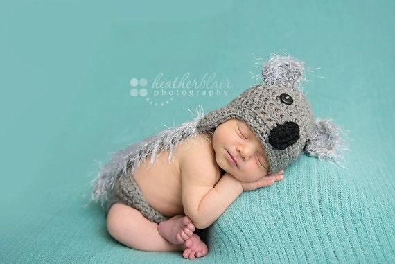 Newborn Koala Bear Set - Zoo Animal Photography Prop 2 pcs Newborn Koala