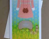 MOONRISE KINGDOM Fan Art - LARGE (5 x 7) Greeting Card