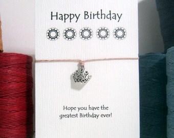 Birthday Crown  Wish Bracelet