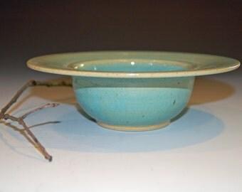 Ceramic Bowl, Pottery Handmade, Celadon Green Pottery Bowl, Ceramics and Pottery, Ice Cream Bowl, Soup Bowl, Cereal Bowl