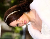 Vintage inpired Wedding headpiece,Rhinestone Headband, Wedding Headband, Bridal, Bridal Headpiece, Свадебные аксессуары для волос