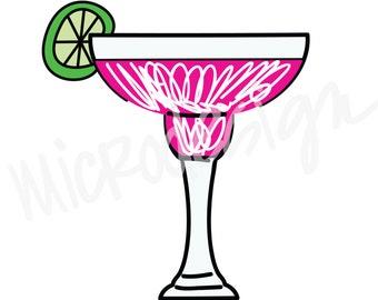 Pink Margarita Clipart