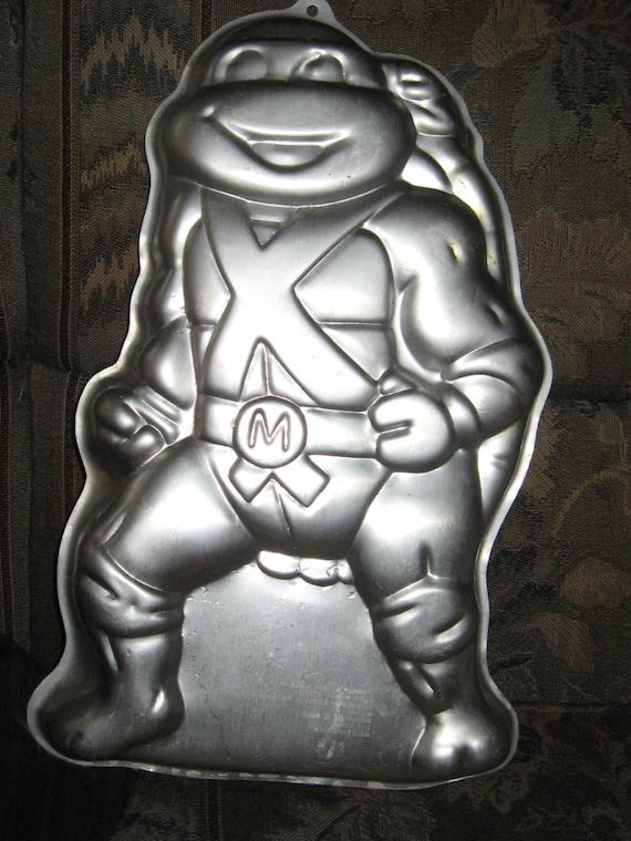 Teenage Mutant Ninja Turtles Cake Pan Vintage Birthday Mold