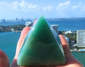 Green Aventurine Chakra Healing Pyramid