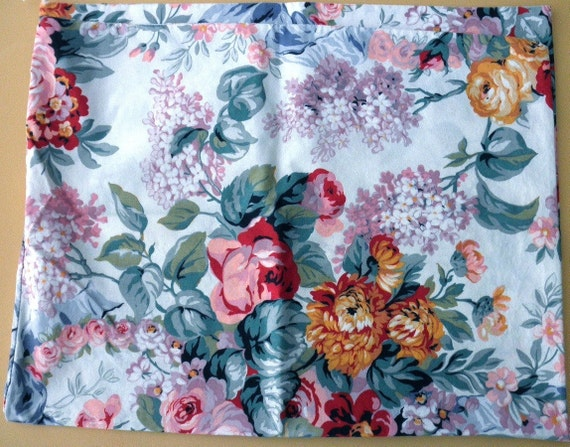 Pair Of King Ralph Lauren Allison Floral Pillow Cases