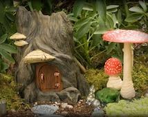 "Fairy Garden Home ""Hidden Dwelling"""