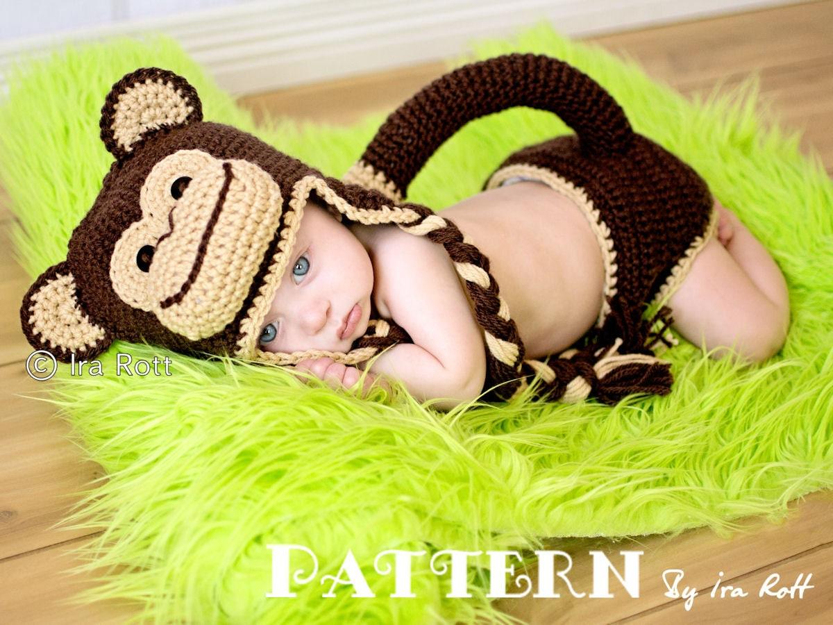CROCHET PATTERN Chip the Chimpanzee Monkey Baby by ...