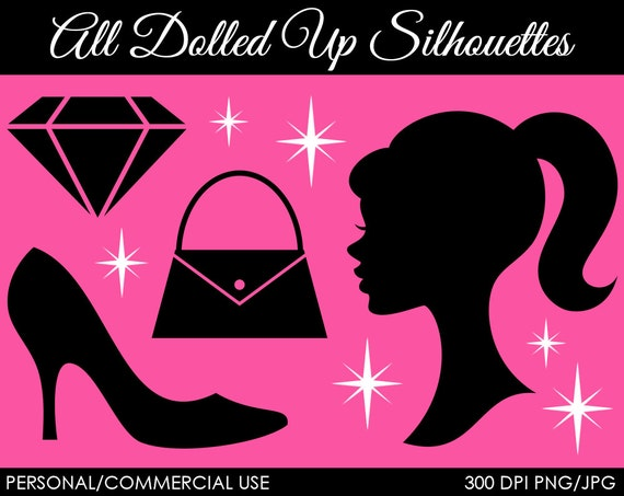 All Dolled Up Clipart - Digital Clip Art Graphics for Personal or Commercial Use