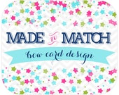 Made to Match -Bow / Product Card Design