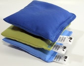 Reusable Dryer Sachets, Eco Friendly Organic Herbal Sachets, Set of Three, Choice of Blend, Ocean Colors