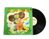 Cheburashka Vinyl Record, vintage vinyl record, Fairy tale Cheburashka